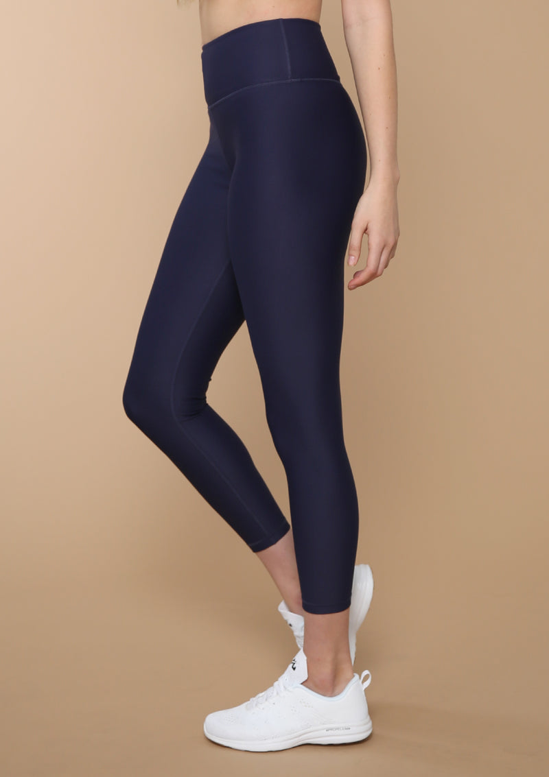 NO. 0112 HIGH-RISE ESSENTIAL LEGGING- BLACKOUT BLUE