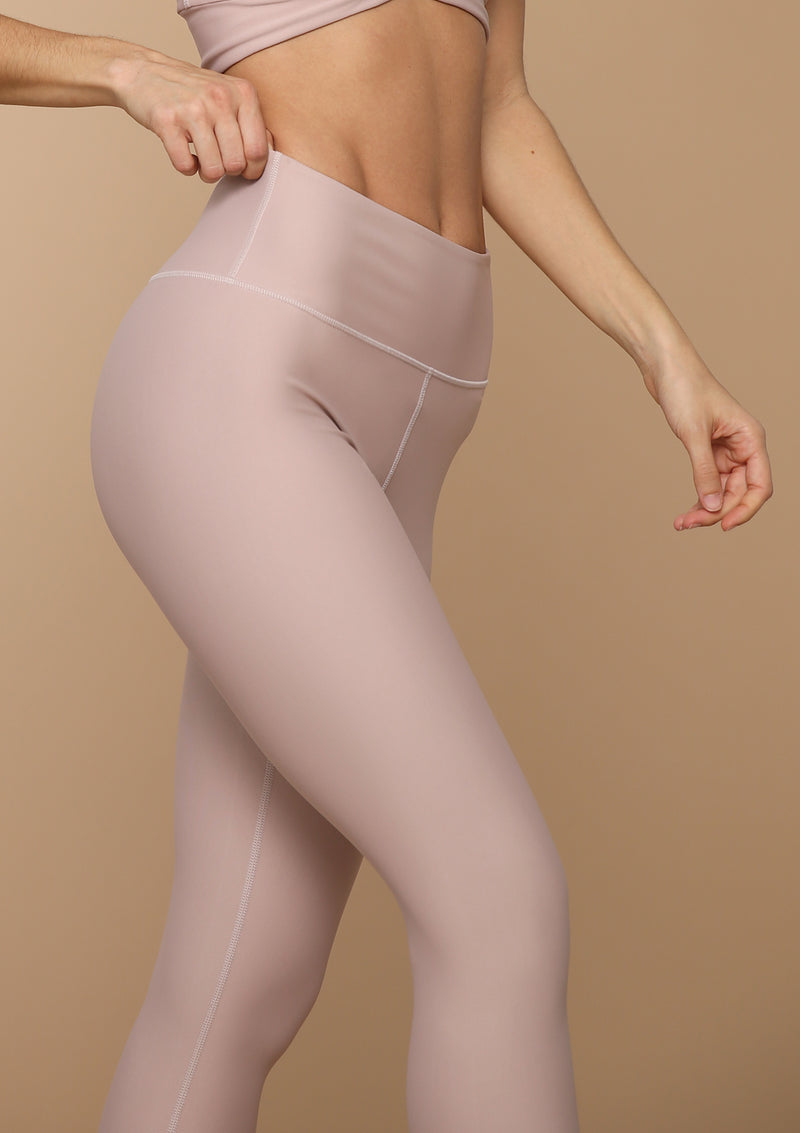 Blank Label Active Leggings in Desert Rose. Comfortable and sleek!