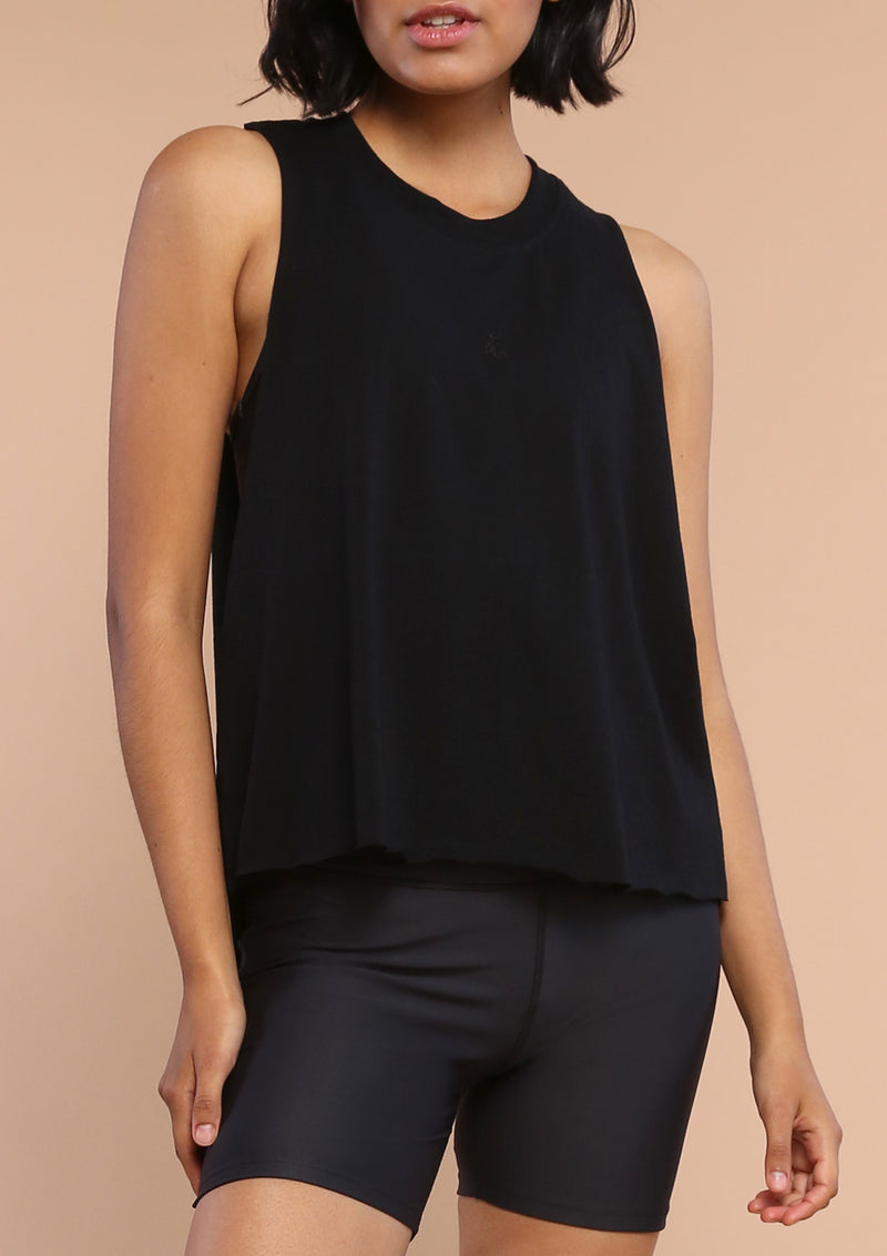 NO. 0139 MUSCLE TANK- BLACK