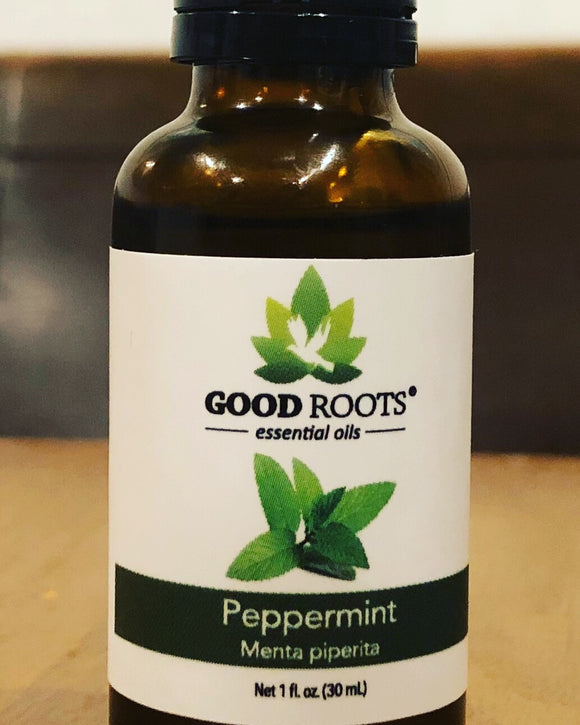 Pure Peppermint Essential Oil 1 oz