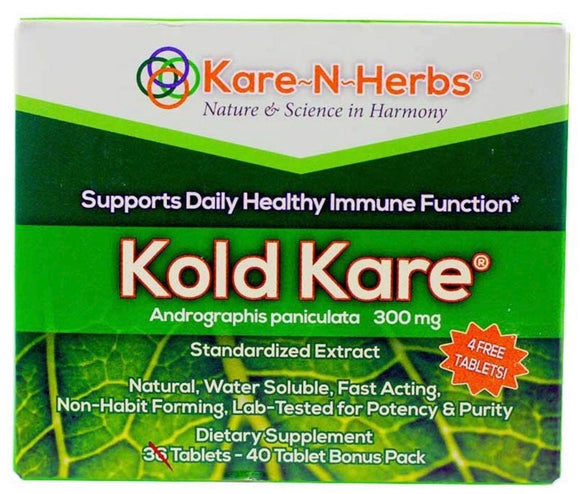 Kold Kare, 300 mg, 40 Tablets