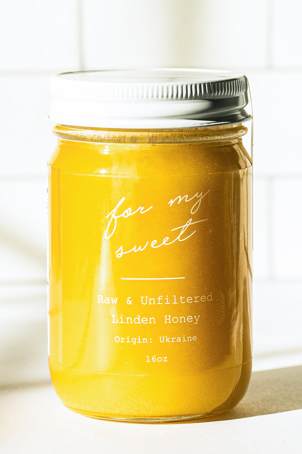 Raw & Unfiltered Linden Honey