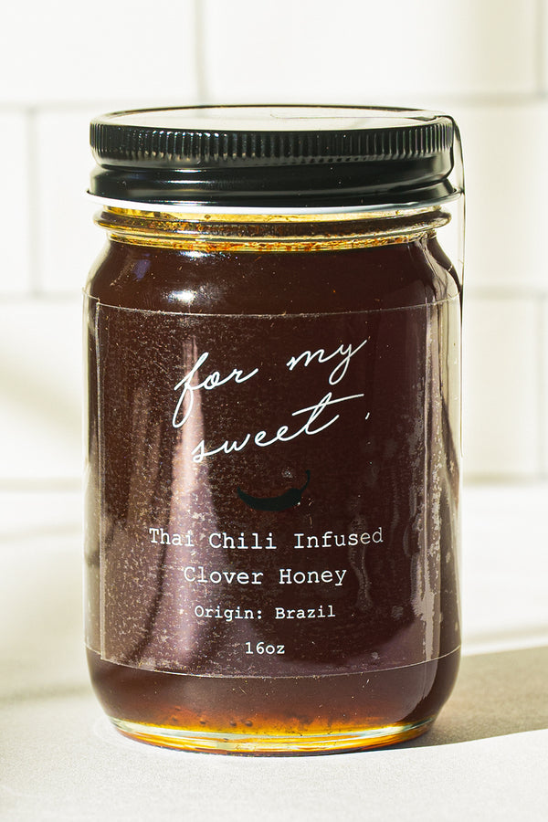 Thai Chili infused Clover Honey