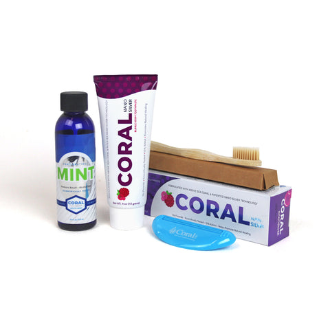 Image of FREE Coral Nano Silver Toothpaste & Mouthwash Trial Pack (discount applied at checkout)