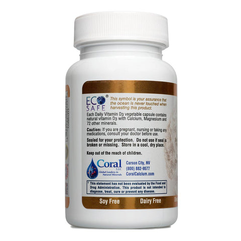 Image of Coral Vitamin D3 Plus 100 Capsules