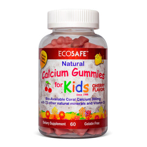 Coral Kids Oral Gummies: Cherry
