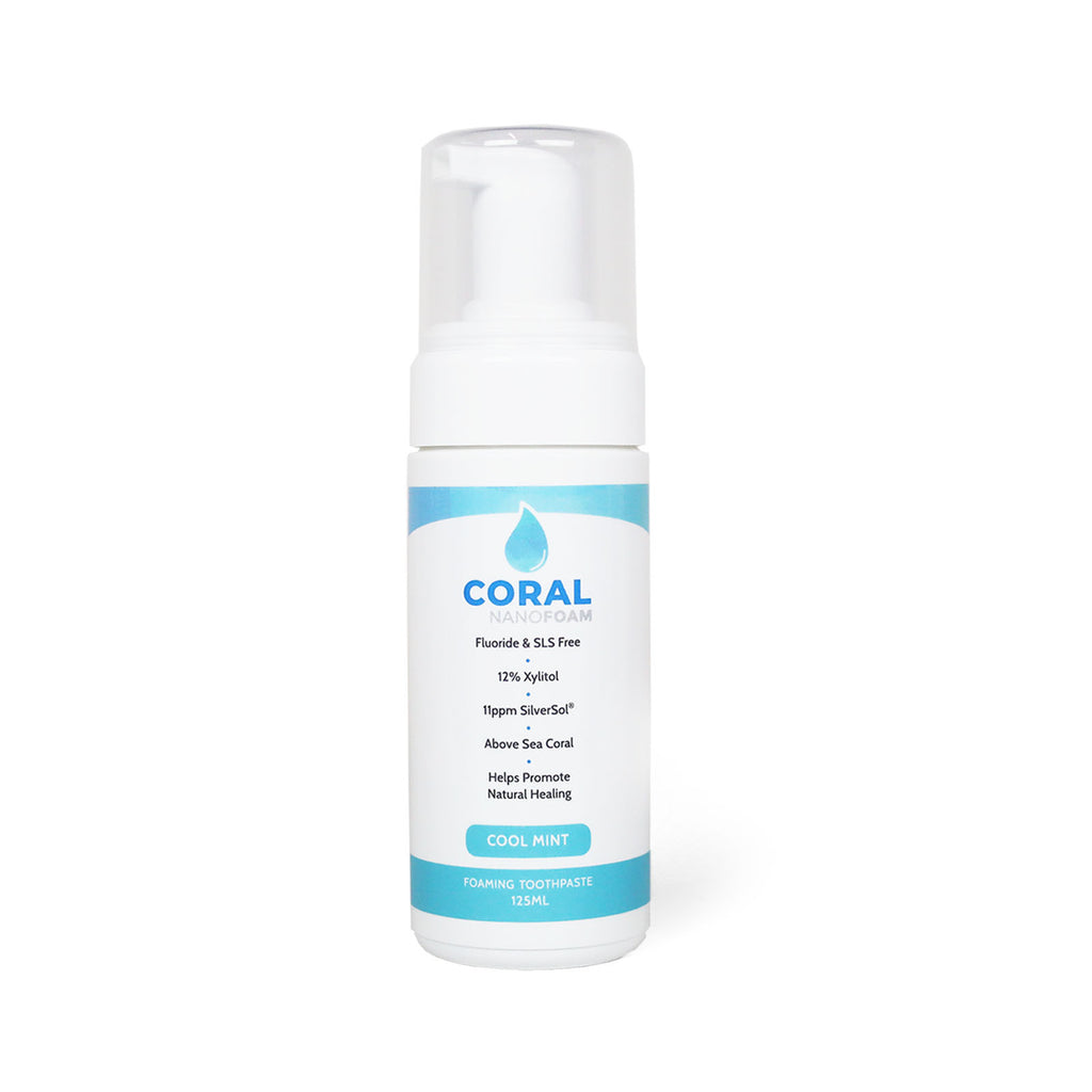Coral Nano Foam Family Size Toothpaste Multi Pack