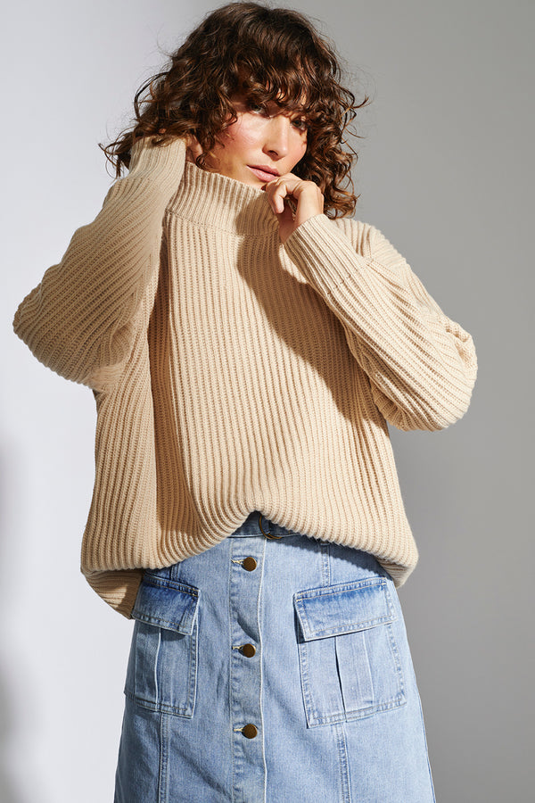 STAPLE-THE-LABEL-ORACLE-RIB-KNIT-JUMPER-NATURAL-MARLE