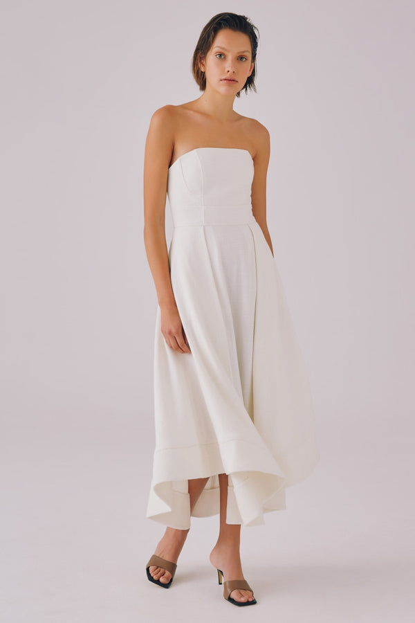 CMEO-COLLECTIVE-CLEAR-MESSAGE-DRESS-IVORY