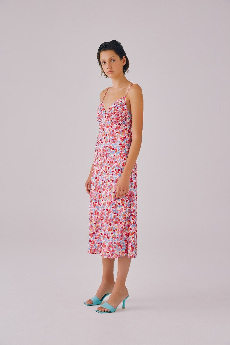 CMEO-COLLECTIVE-ENCAPTULATE-DRESS-IVORY-PAINTED-FLORAL