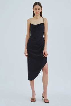 C/MEO-PROVOKE-DRESS-BLACK