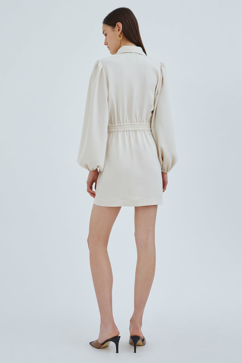 C/MEO-IMMENSE-MINI-DRESS-ECRU