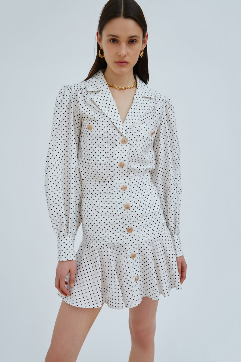 CMEO_COLLECTIVE_EVOKED_SKIRT_IVORY_SPOT