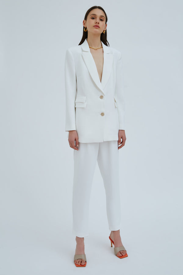 CMEO-COLLECTIVE-DECOROUS-BLAZER-IVORY