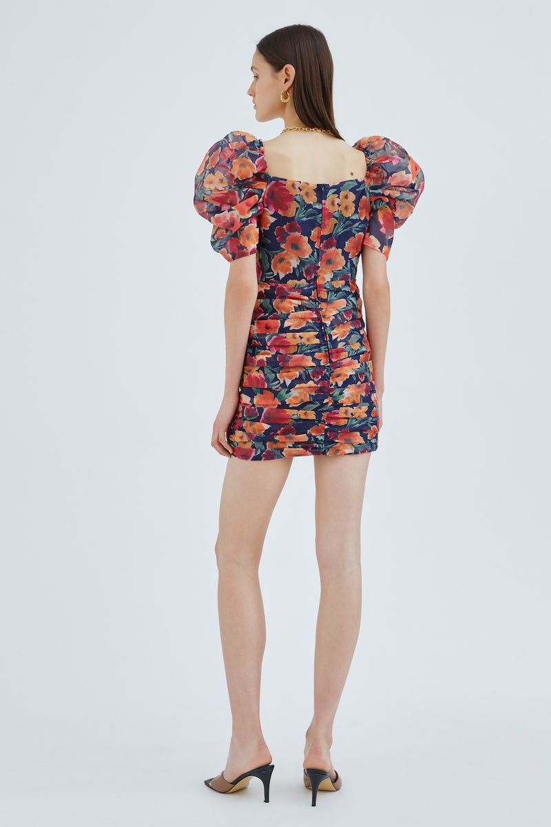 C/MEO-NIGHTSPOT-SS-DRESS-INK-FLORAL