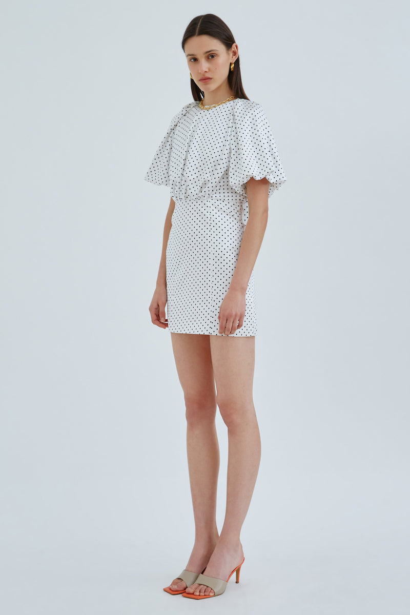 CMEO_COLLECTIVE_IMMACULATE_SS_DRESS_IVORY_SPOT
