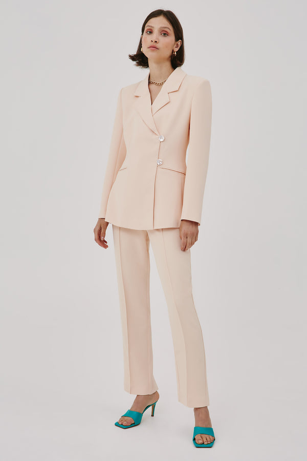 CMEO-COLLECTIVE-ASSENT-BLAZER-PEACH