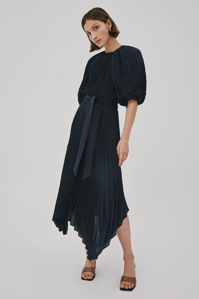 C/MEO-COLLECTIVE-CONSTRUCT-DRESS-NAVY