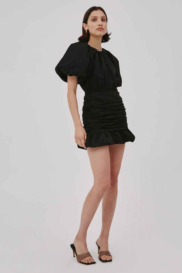 CMEO-COLLECTIVE-CAPTIVE-SS-DRESS-BLACK