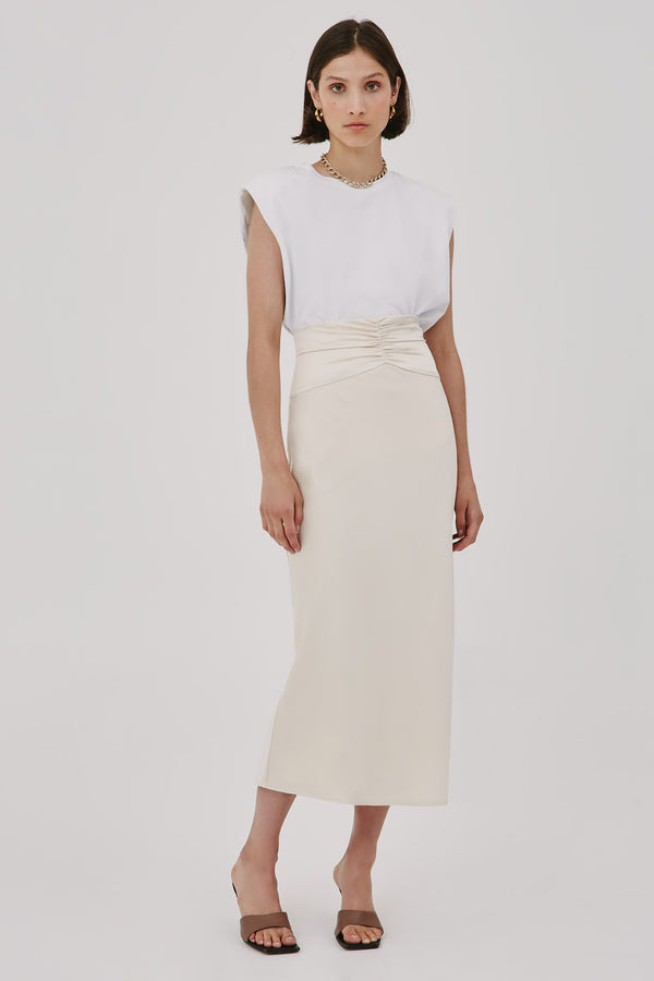 CMEO-COLLECTIVE-CONTEMPO-SKIRT-ECRU