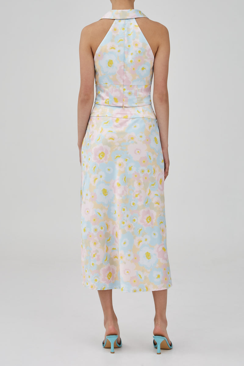 CMEO-COLLECTIVE-CONTEMPO-SKIRT-BUTTER-BLURRED-FLORAL