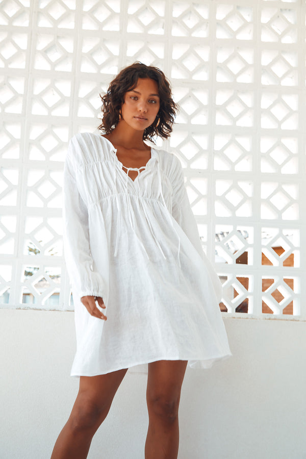 SNDYS-THE-LABEL-ARIES-LINEN-DRESS-WHITE
