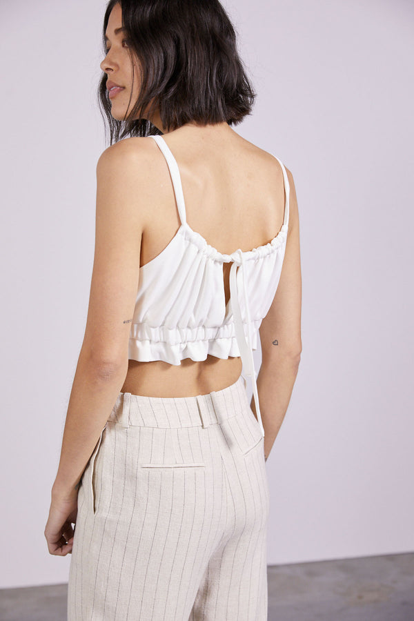 THIRD-FORM-PULL-IN-CAMI-OFF-WHITE
