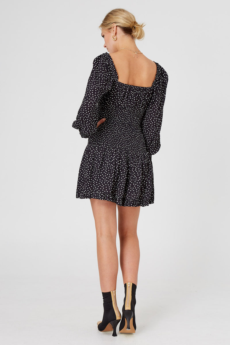 Finders-Keepers-NAOMI-LS-MINI-DRESS-BLACK-SPOT