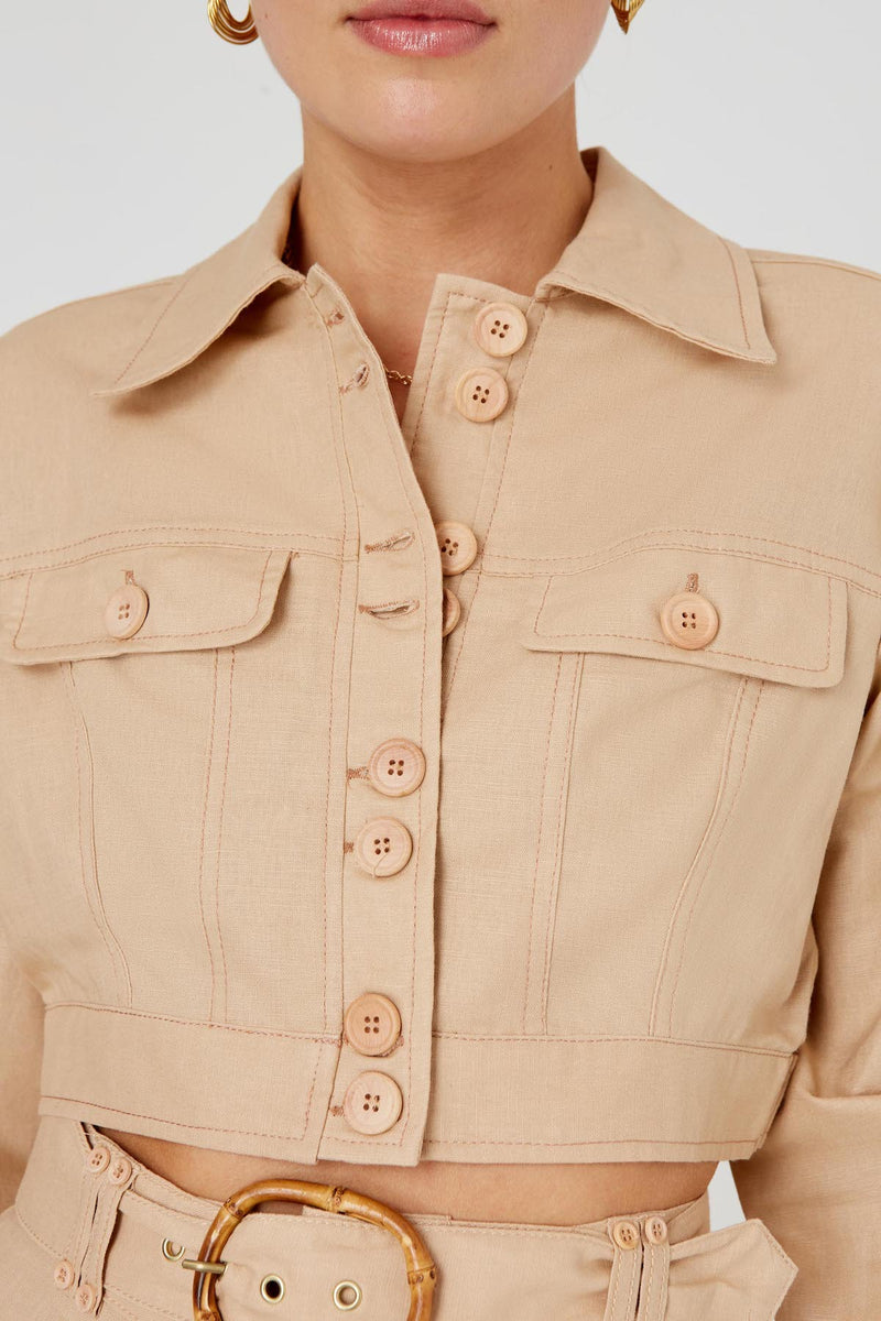 Finders-Keepers-BAMBI-JACKET-TAN