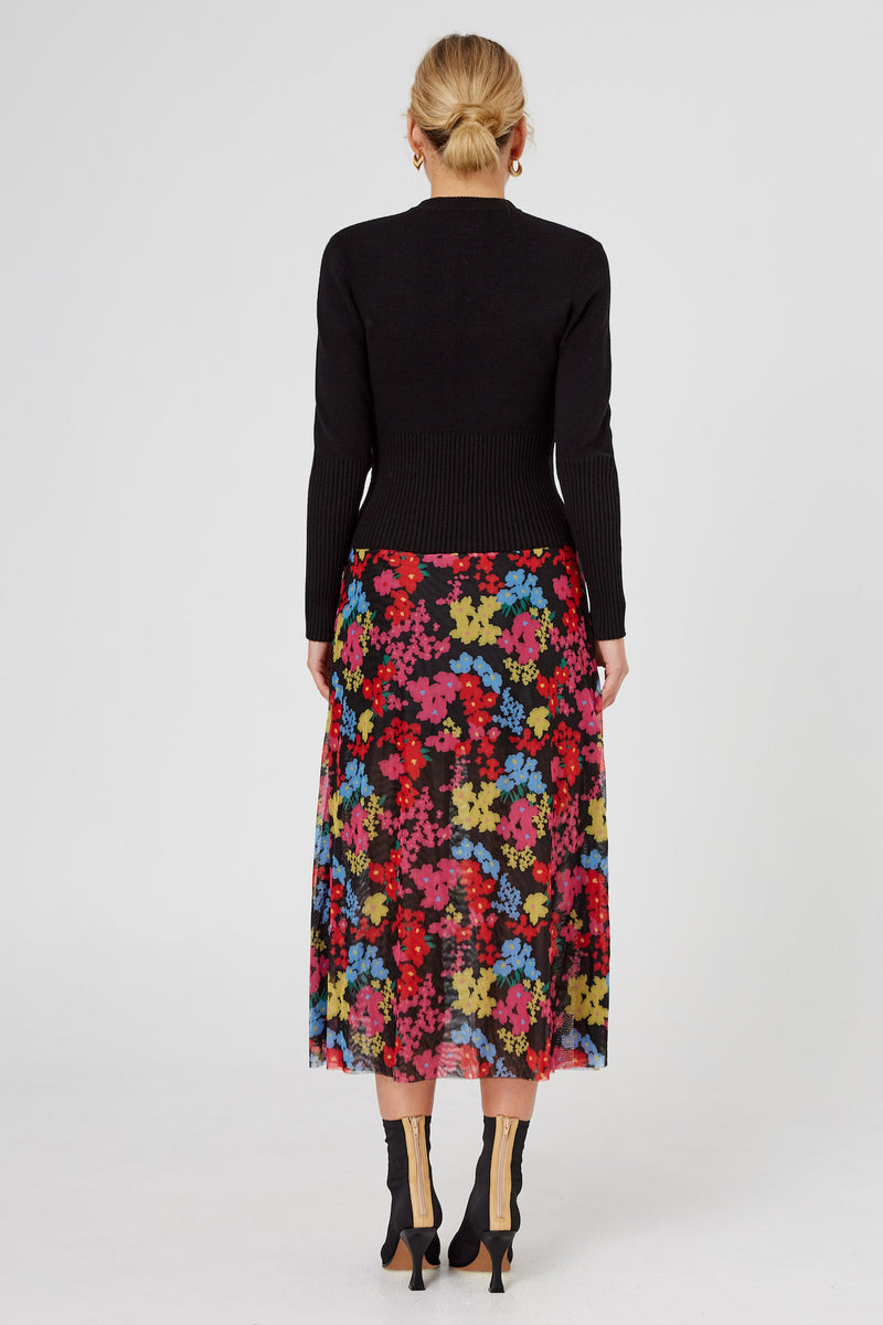 Finders-Keepers-MATILDA-SKIRT-BLACK-FLORAL