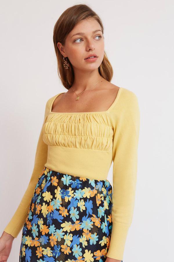 FINDERS-KEEPERS-YVES-KNIT-SUNFLOWER