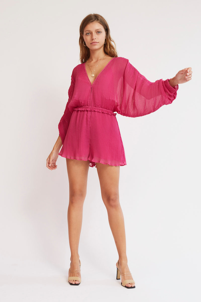 Finders-Keepers-BIJOU-PLAYSUIT-FUCHSIA