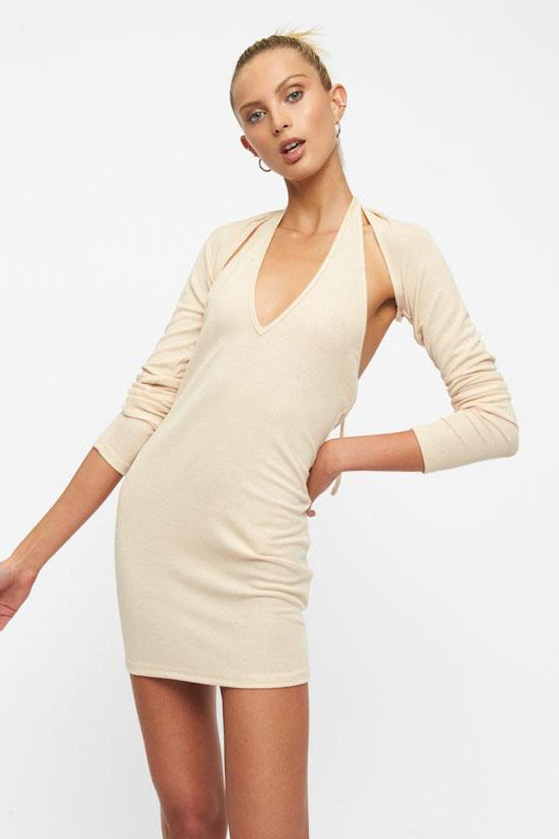 Lioness-HEAVENLY-SENT-MINI-DRESS-OATMEAL