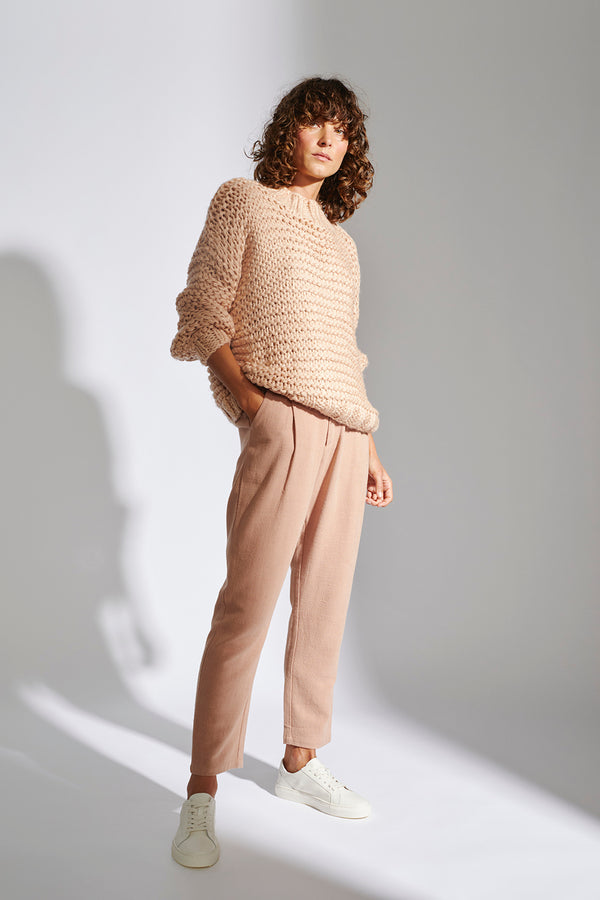 STAPLE-THE-LABEL-TEMPO-JUMPER-DUSTY-PINK