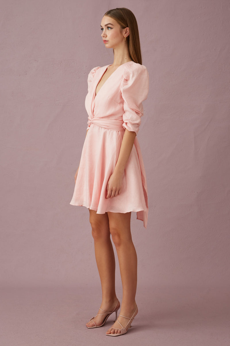 Keepsake-I-KNOW-MINI-DRESS-PINK