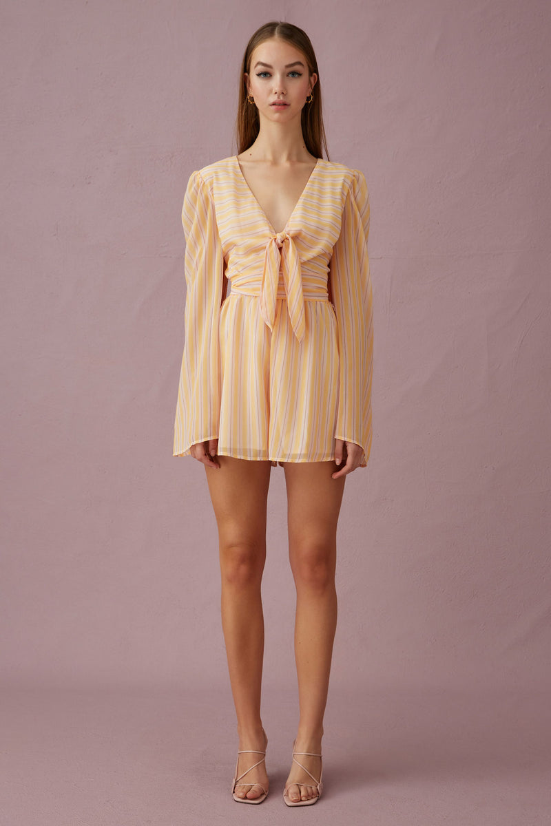 Keepsake-The-Label-Cupid-Playsuit-Yellowstripe