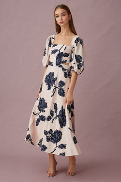 Keepsake-The-Label-Location-Midi-Dress-Mink-Silhouette