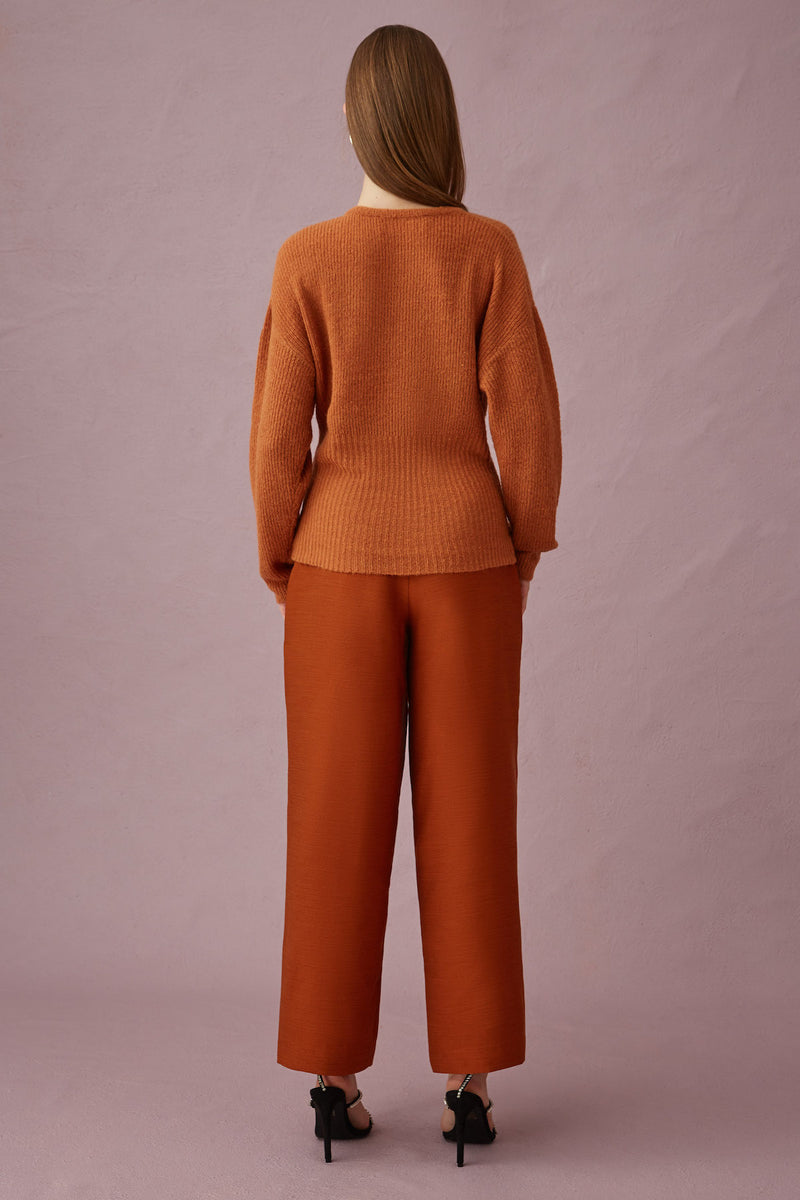 KEEPSAKE-THE-LABEL-HYPNOTISED-KNIT-SWEATER-TOBACCO