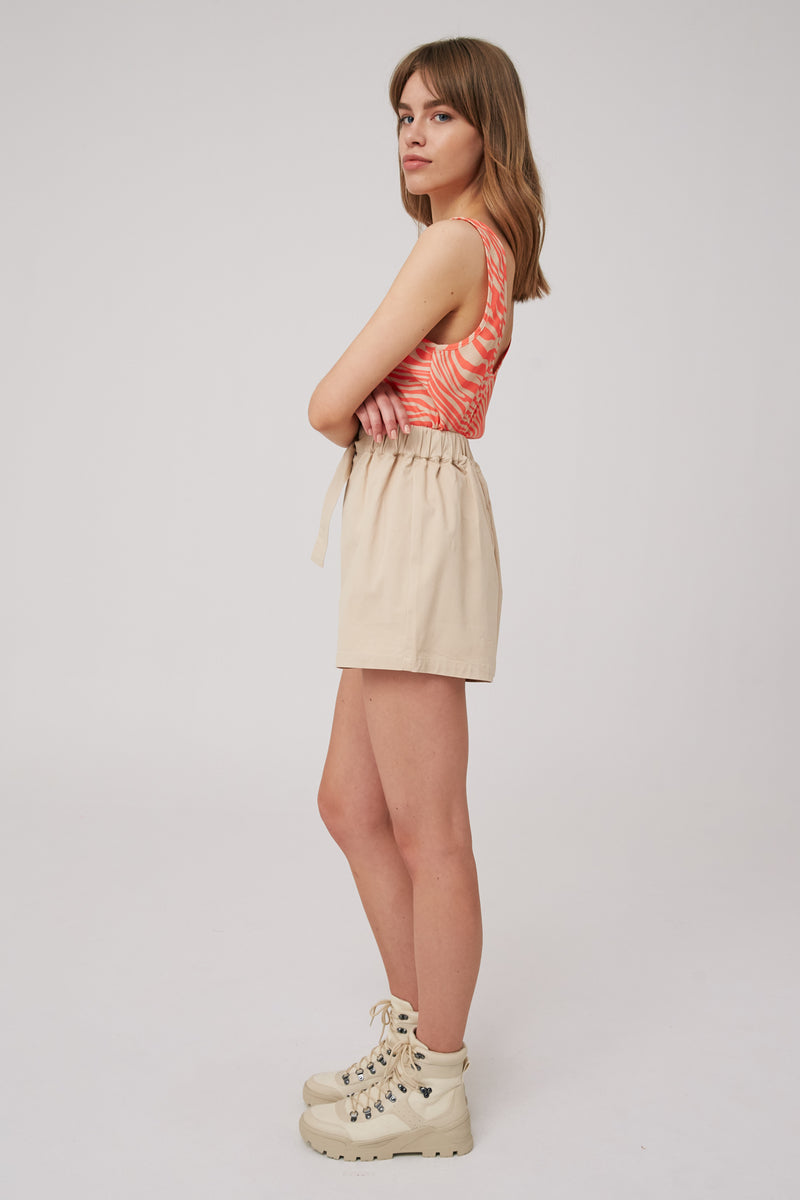 The Fifth Label Long Gone Top Coral And Nude