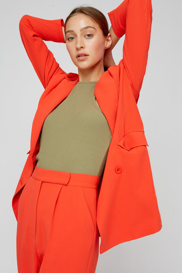 TRANSITION BLAZER - TANGERINE