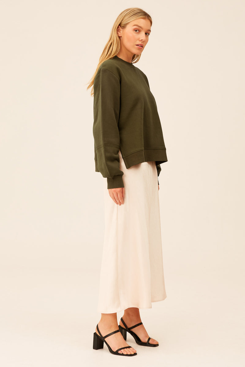 THE-FIFTH-LABEL-HOPEFUL-SWEATER-DEEP-KHAKI