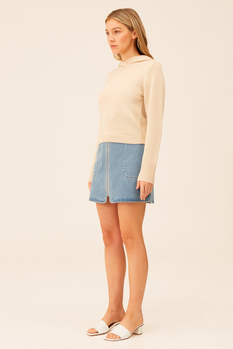 THE-FIFTH-LABEL-SIDELINE-KNIT-CREAM