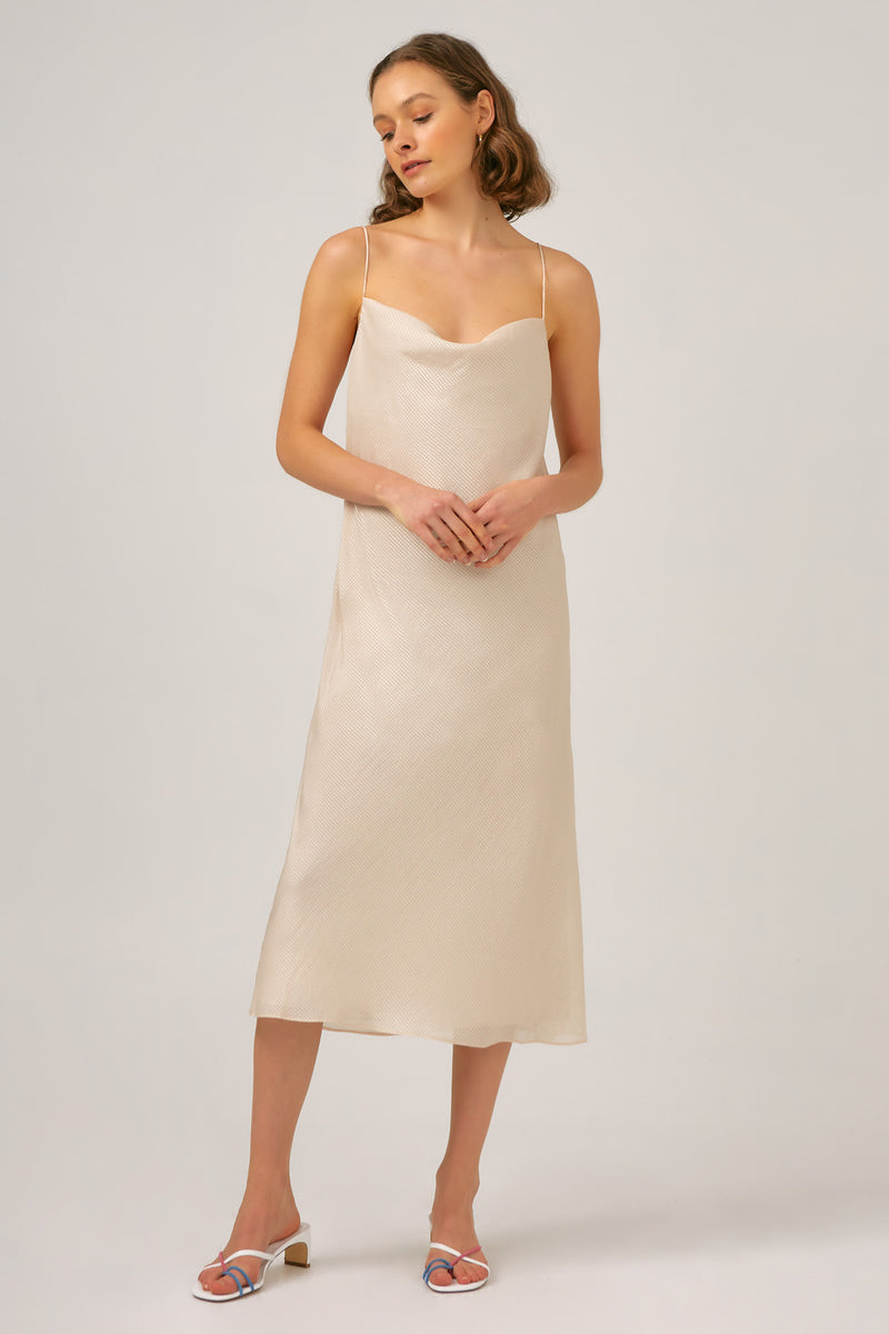 THE-FIFTH-LABEL-ALBUM-MIDI-DRESS-IVORY