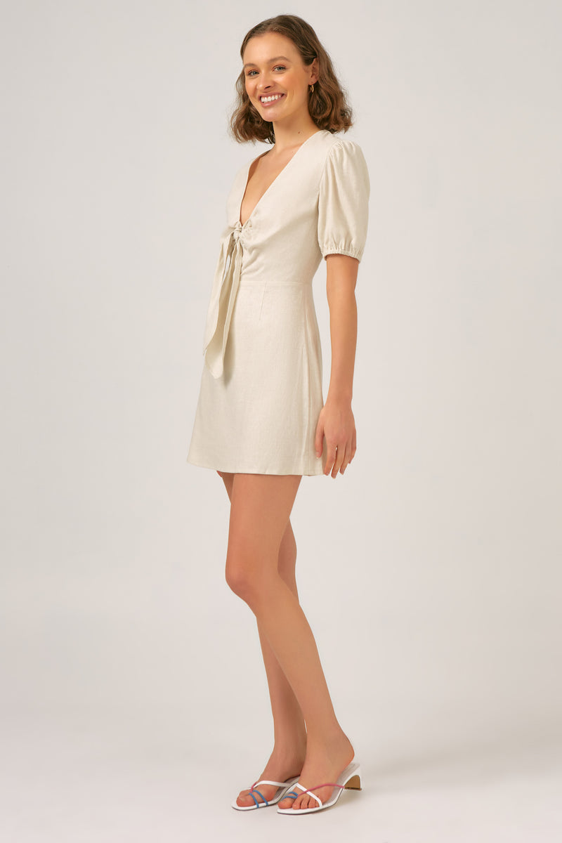 MELODY DRESS - NATURAL