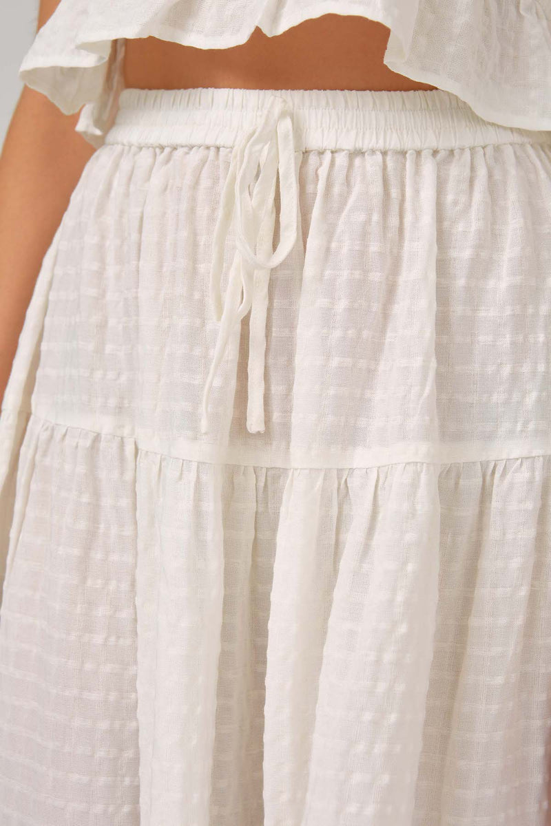 THE-FIFTH-LABEL-UNIFY-SKIRT-WHITE