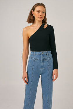 THE-FIFTH-LABEL-ODETTE-LS-TOP-BLACK