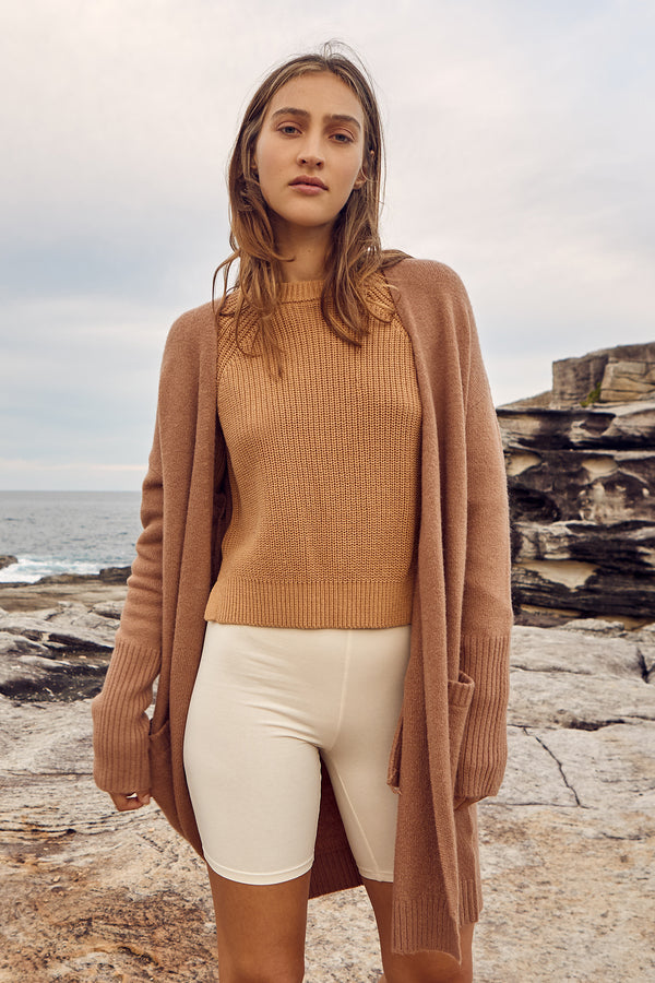 NUDE-LUCY-AVERY-CARDIGAN-TAN