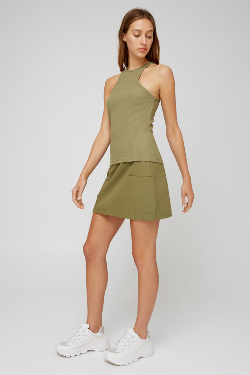 CALENDAR TANK - LIGHT KHAKI