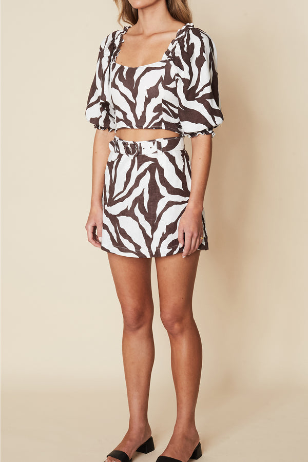 FAITHFULL-THE-BRAND-CELIA-SKORT-JAVELINA-ANIMAL-PRINT