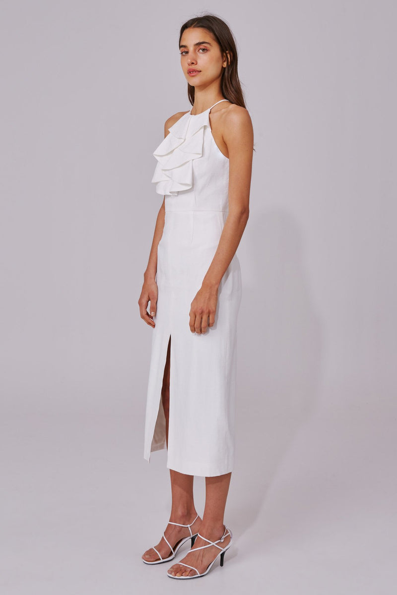 New Places Dress - Ivory